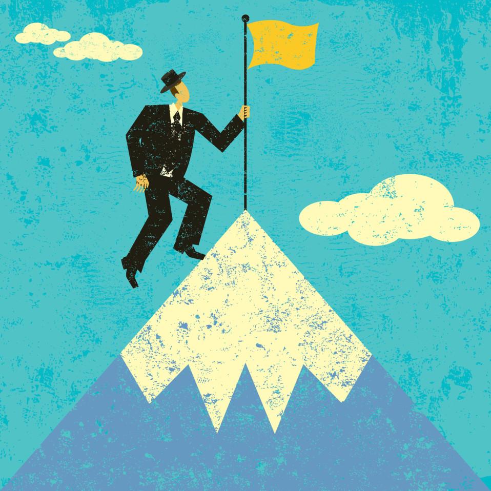 Businessparabel - Der Gipfelstürmer